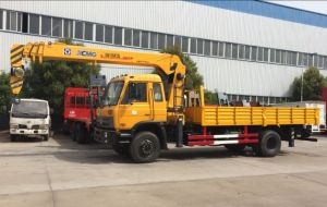 New Dongfeng 8ton Straight Boom 10ton Truck Boom Crane pictures & photos