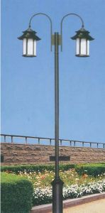 Fiberglass Outdoor Street Lighting Pole pictures & photos