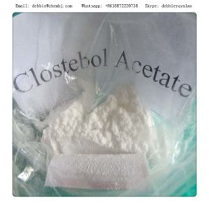 Cutting Cycle Turinabol 4-Chlorotestosterone Acetate Clostebol Acetate CAS 855-19-6 pictures & photos