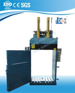 Ved40-11070-Dd Semi-Auto Baler; Hydraulic Cloth Baler Pressing Machine pictures & photos