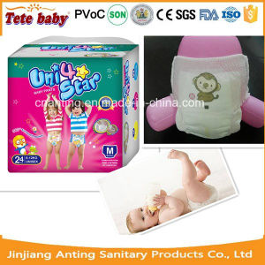 Jeans Top Quality Competitive Price Disposable Baby Diaper/Baby Pants pictures & photos