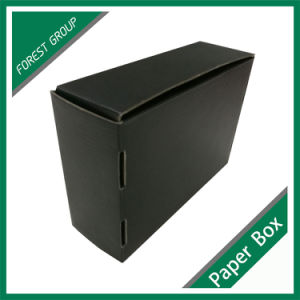 Full Matt Black Printing Box with Logo Foil pictures & photos