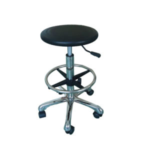 PU Foam Height Adjustable ESD Chair for Cleanroom pictures & photos