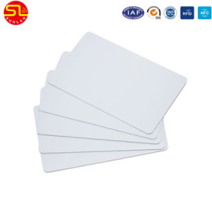 PVC Blank White Card pictures & photos