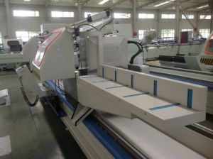 Three Axis Double Head Cutting Machine for Aluminum UPVC Window pictures & photos