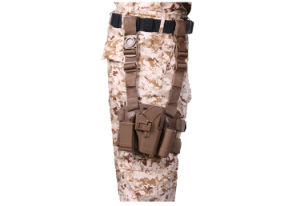 Tactical Holster Four in One Tactical Drop Leg Holster for Glock 17 Airsoft Holster pictures & photos
