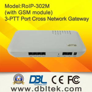 Radio Over The Internet and GSM Cross-Network Gateway RoIP-302M pictures & photos