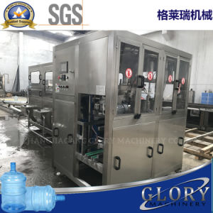 Automatic 600bph Pure Water Bottling Plant for 20L Barrel pictures & photos