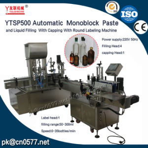Ytsp500 Filling Capping with Labeling Machine for Smoke Oil pictures & photos