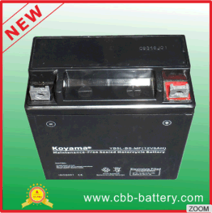 12V5ah Maintenance Free Lead Acid Motorcycle Gel Battery Yb5l-BS-Mf pictures & photos