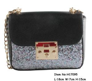 High Qualtiy Shiny PU Material Clutch Handbag pictures & photos