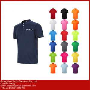 Guangzhou Factory Manufacture Cheap Promotion Men′s Polo T Shirt (P65) pictures & photos