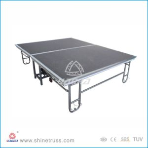 Bar Stage, Aluminum Portable Foldable Stage pictures & photos