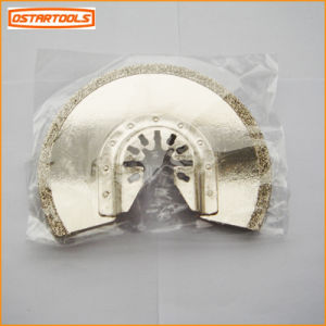3-3/8 in. Diamond Grit Multi-Tool Half-Moon Blade Segment Saw Blade for Masonry pictures & photos