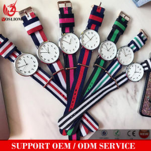 Yxl-474 2016 Fashion Watch Nylon Strap for Dw Style Watch Bracelet Wristwatch Quartz Sport Nato Band Men Watch pictures & photos