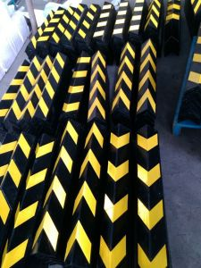 Parking Safety Reflective Rubber Wall Protector pictures & photos