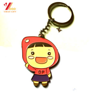 Custom Logo Metal Keychain/Promotional Zinc Alloy Trolley Coin (YB-K-033) pictures & photos