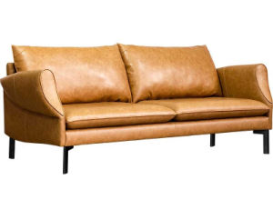 Modern Design 3 Seater Leather Sofa for Home Furniture (HC-X10) pictures & photos