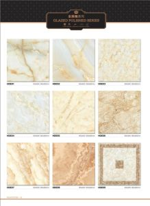 600X600 800X800 Hot Sale Building Glazed Marble Porcelain Floor Tile pictures & photos