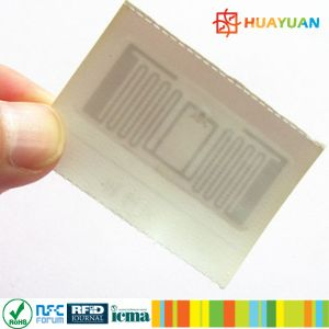 Customized Printing Impinj M4 M5 UHF RFID Hang Clothing Tags pictures & photos