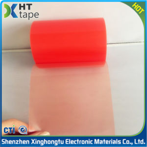 0.2 Thick Transparent Red Film Double-Sided Pet Tape pictures & photos