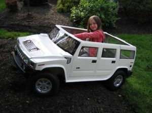 Electric Go-Kart Hummer Type (HM600)