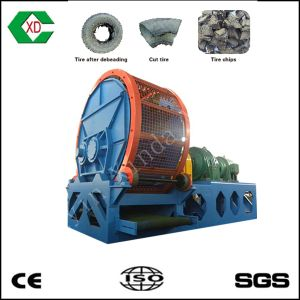 Tire Recycling Machine Whole Tire Shredder / Rubber Tire Shredder pictures & photos
