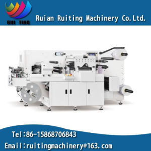 Rtkiss-330f Flat Bed Label Die-Cutting Machine with Flexo UV Varnish pictures & photos