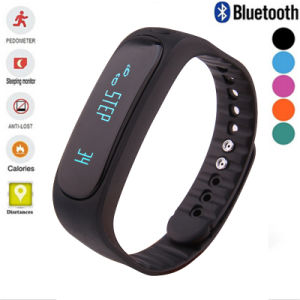 E02 Health Fitness Tracker Sport Smart Bracelet Waterproof Bluetooth Band for Andorid Ios pictures & photos