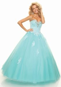 Lace Tulle with Beading Ball Gown Formal Evening Dresses (ED3028) pictures & photos