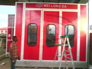 WLD8200 Hot Sell High Quality Car Spray Booth CE pictures & photos