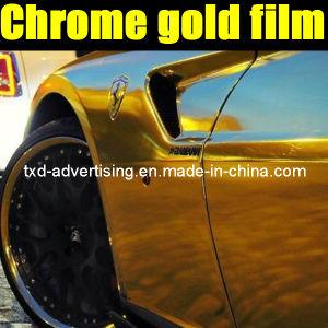 High Quality Car Chrome Wrap Vinyl Film