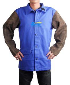Fr Cotton Cow Split Leather Welding Jackets (BWJ2530)