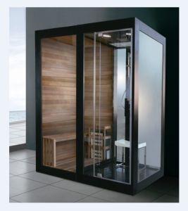 Luxury Moist Steam Bathroom with Sauna Function (M-8287) pictures & photos