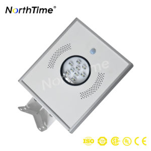 Outdoor Renewable Energy Solar Panel Street Light with PIR Sensor pictures & photos