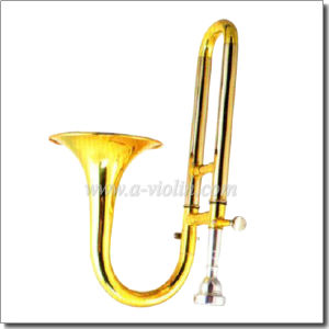Bb/a Key Lacquer Finish Soprano Slide Trumpet/ Piccolo Trombone (PT1580) pictures & photos