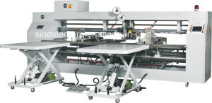 Double PCS Box Stitching Machine for Small Carton Box pictures & photos