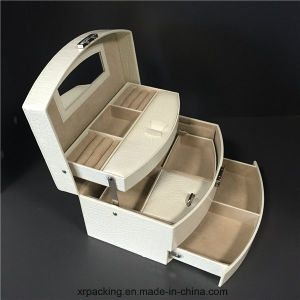 Jewelry Case with Mirror and Storage Drawers pictures & photos