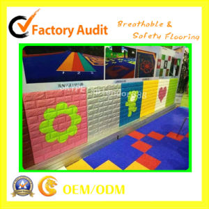 Colorful Safety Children Playground Protect Wall and Soft Flooring pictures & photos