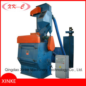 Tumblast Belt Rubber Track Small Shot Blasting Machine for Small Foundry Parts pictures & photos