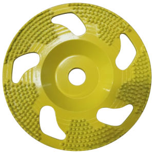 Diamond Brazed Cup Grinding Wheel for Concrete and Stone pictures & photos