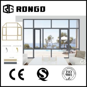 Rongo Aluminum Casement Window with Double Glazing