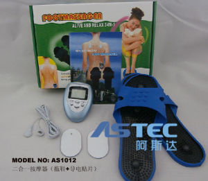 2 in 1 Body and Foot Muscle Stimulator Massager As1012