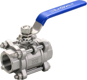 """3/8"""" Full Bore Ball Valve with 3 Piece Body"""