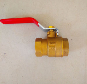 High Quality 600wog Brass Ball Valve pictures & photos