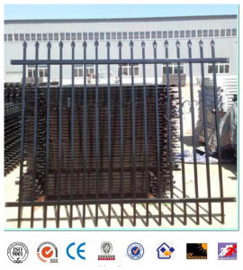 Wrought Iron Fence Garden Fence Home Fence Black and Green pictures & photos