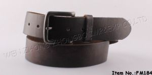 2016 New Fashion Genuine Leather Belt (FM184) pictures & photos