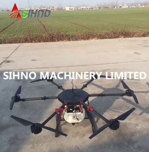 GPS Intelligent Aviation Plant Protection Machine 10L Agricultural Drone Sprayer Uav pictures & photos