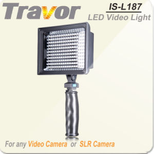High Power LED Videl Light Is-L187 for Canon DSLR Cameras