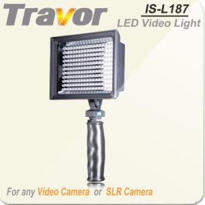 High Power LED Videl Light Is-L187 for Canon DSLR Cameras